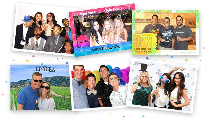 Selfie Station Photo Booth Rental in San Diego, CA
