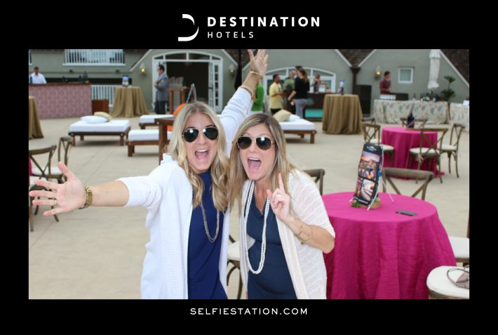 Selfie Station at Destination Hotels