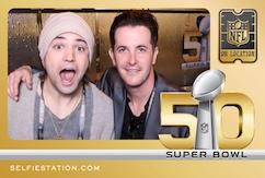 Selfie Station Super Bowl 50 NFL