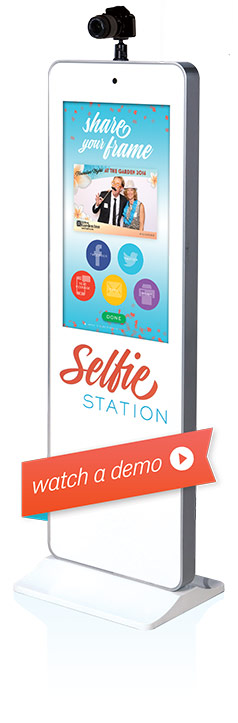 Selfie Station Photo Booth Rentals