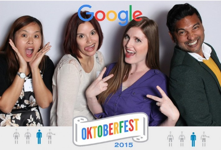 Google's Selfie Station photo booth