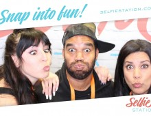 Selfie Station photo booth fun