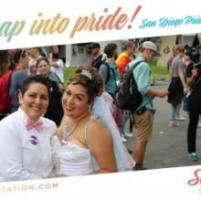San Diego Pride Selfie Station Photo Booth