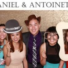 Daniel & Antoinette Photo Booth Image