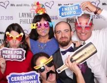 Selfie Station event props